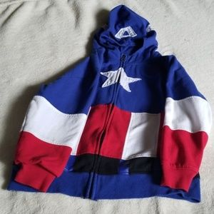 Boys Captain America jacket